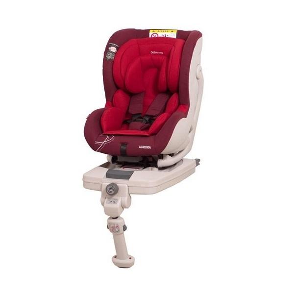 Scaun auto coto baby aurora isofix 0-18 kg red imagine
