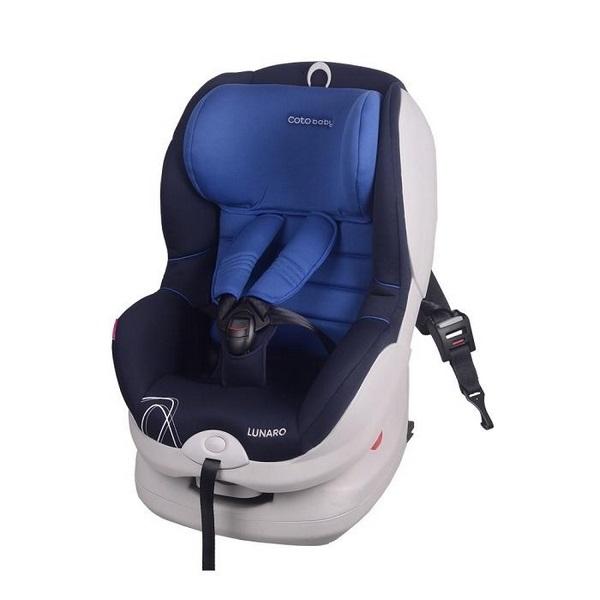 Scaun auto coto baby lunaro isofix 9-18 kg blue imagine