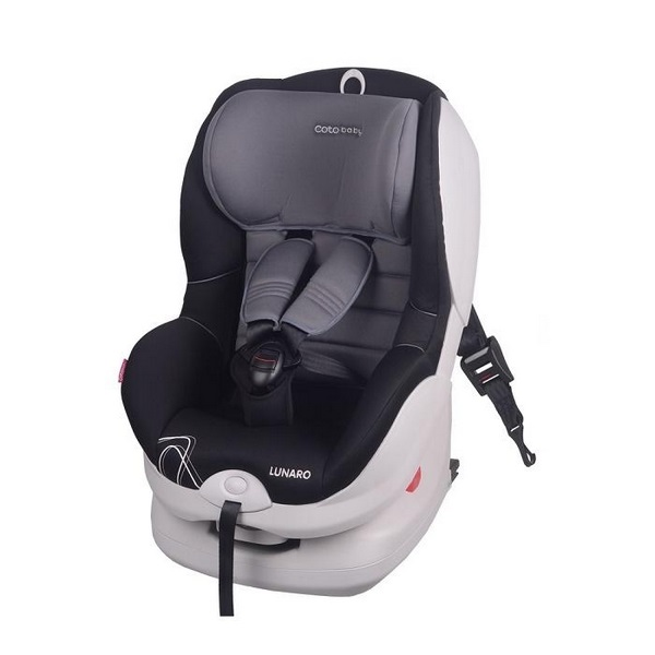 Scaun auto coto baby lunaro isofix 9-18 kg grey imagine