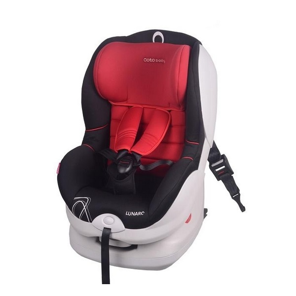Scaun auto coto baby lunaro isofix 9-18 kg red imagine
