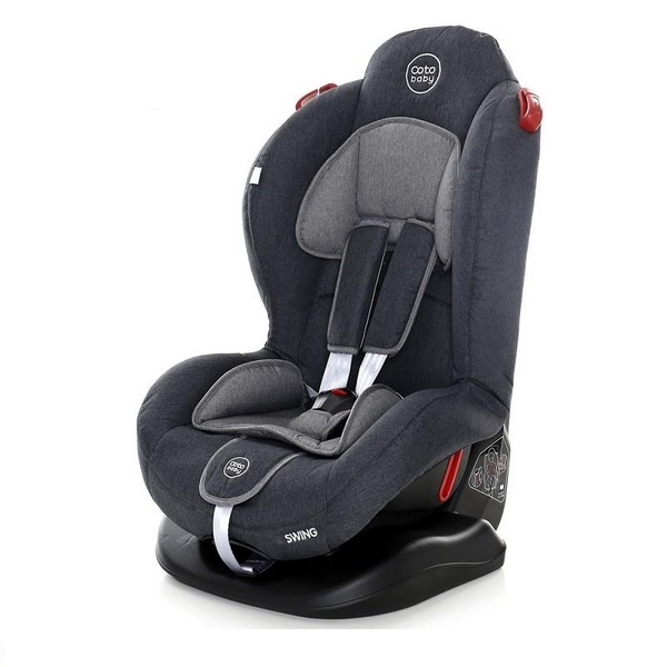 Scaun auto coto baby swing 9-25 kg melange dark grey new imagine