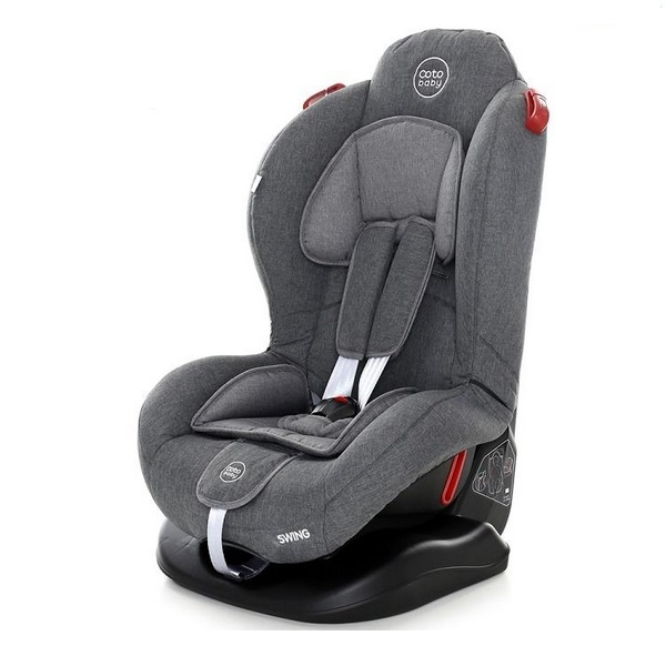 Scaun auto coto baby swing 9-25 kg melange grey new imagine