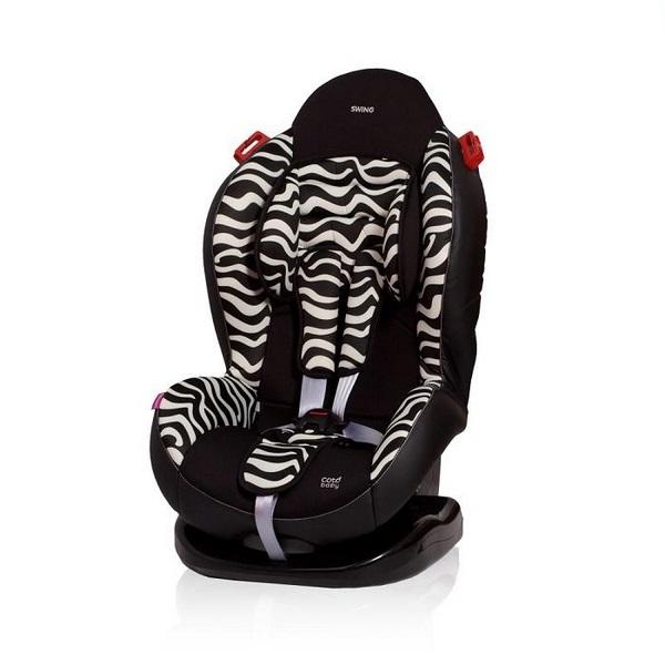 Scaun auto coto baby swing 9-25 kg zebra imagine