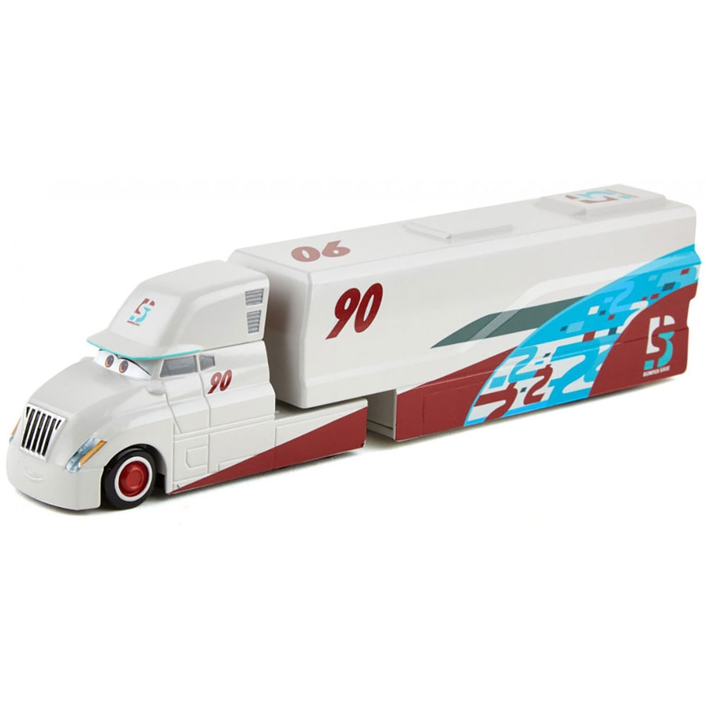 Camion Disney Cars by Mattel Ponchy Wipeout Hauler din metal