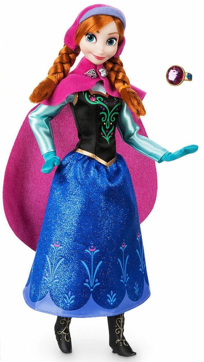 Papusa Printesa Disney Anna cu inel