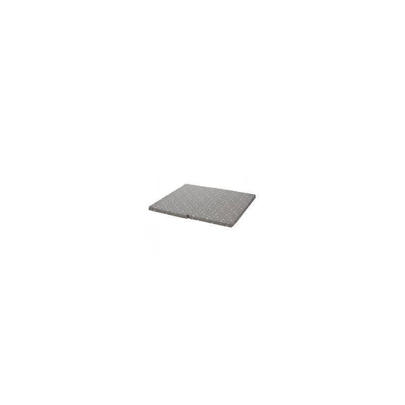 Saltea pentru tarc copii ,100x93 cm, grey star Fillikid imagine