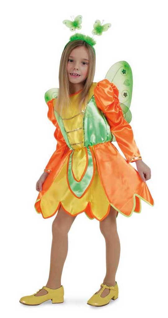 Costum Pentru Serbare Zana Fluturas 128 Cm imagine
