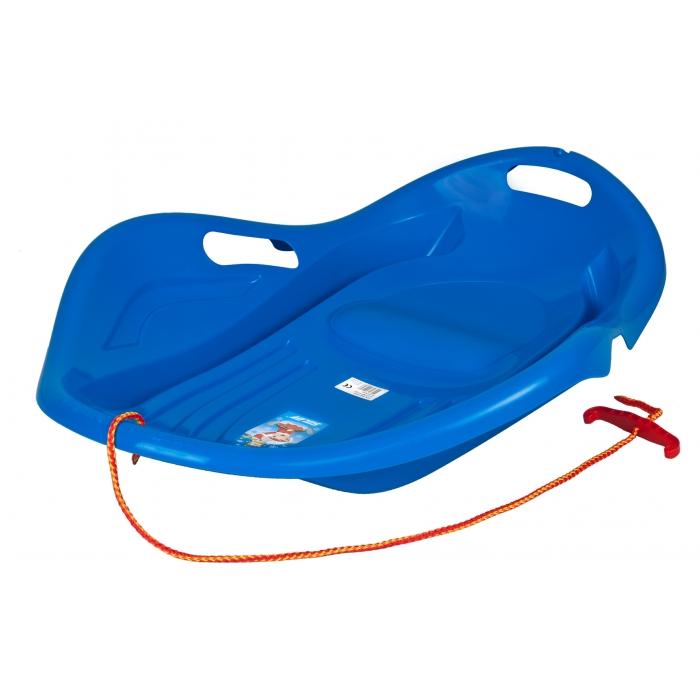 Sanie copii marmat shell premium comfort - albastru imagine