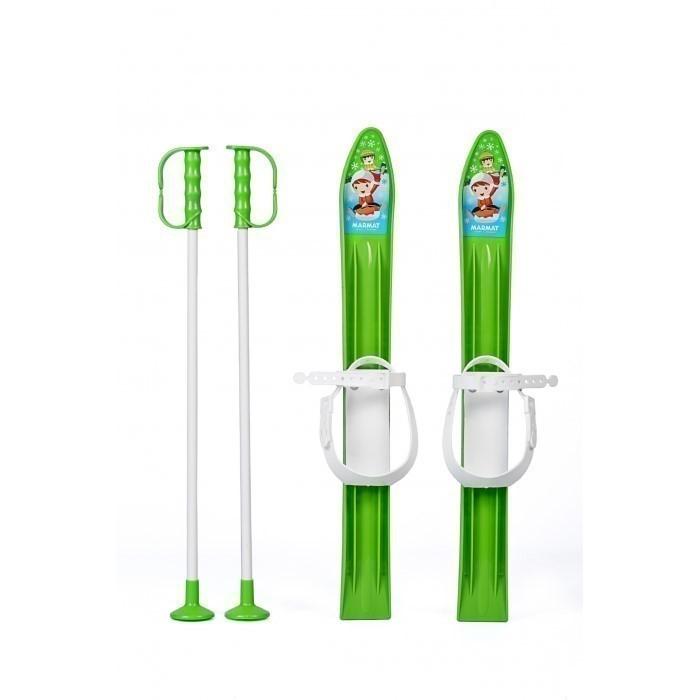 Schiuri copii marmat 60 cm - verde imagine