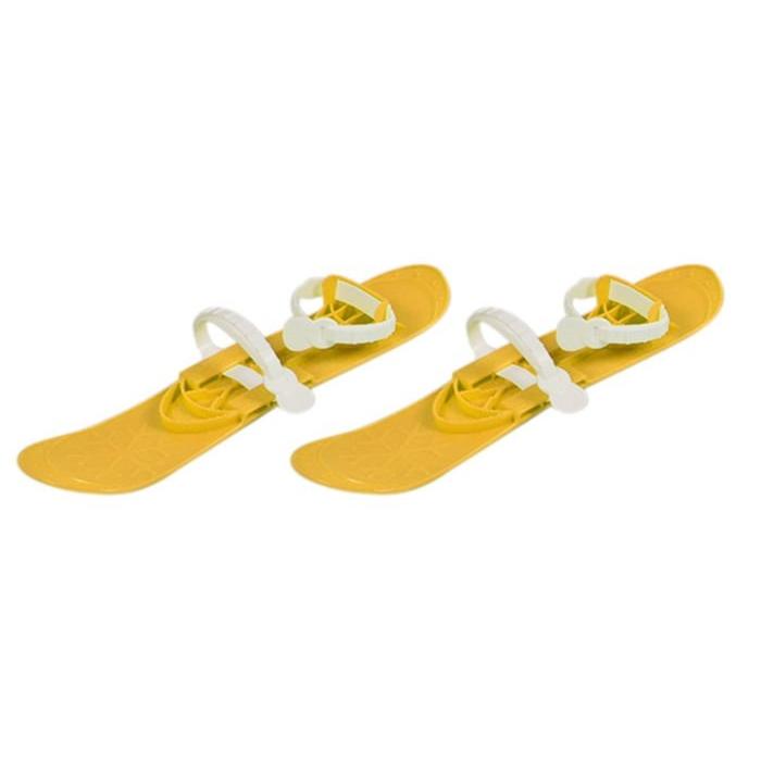 Schiuri copii marmat big foot - galben imagine