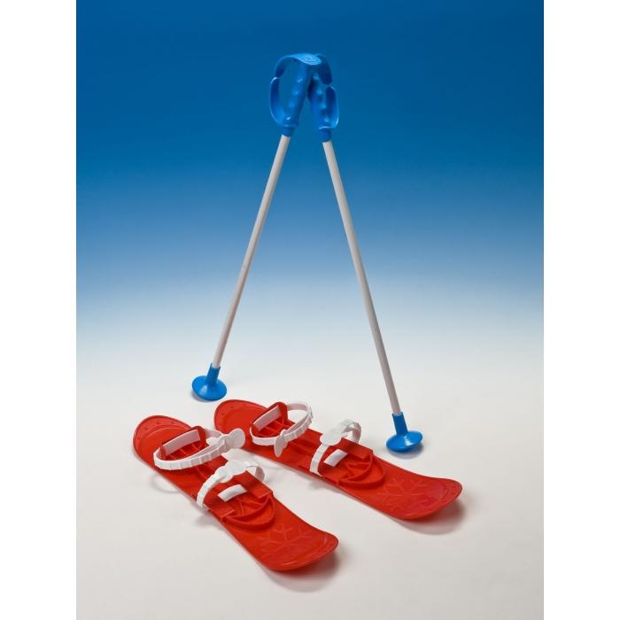 Schiuri copii marmat big foot - rosu imagine
