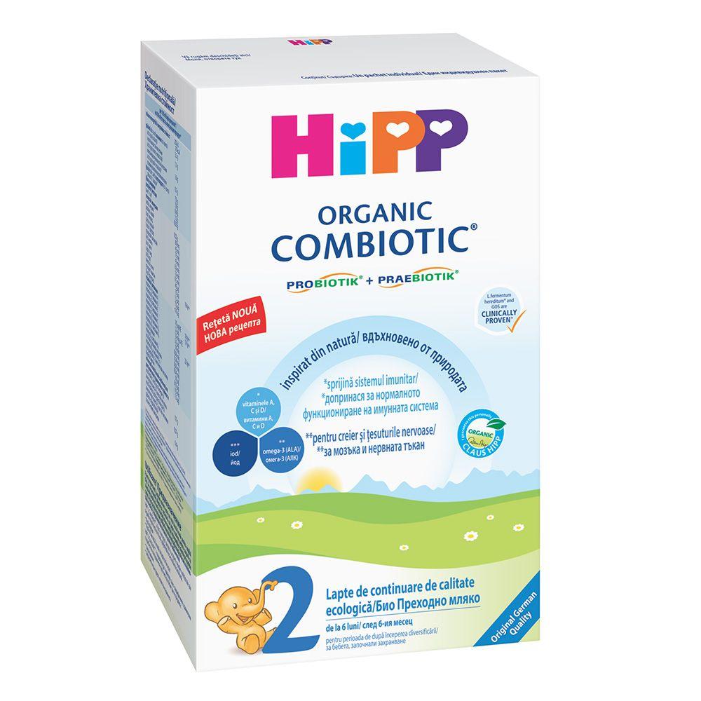Lapte HiPP 2 Combiotic Lapte de continuare 300g imagine