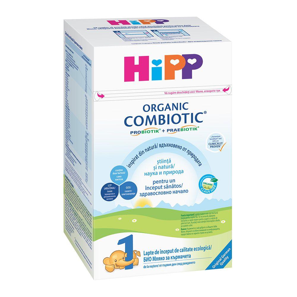 Lapte HiPP 1 Combiotic Lapte de inceput 800g imagine