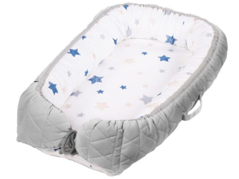 Baby Nest Klups Klups Velvet Gri V102 imagine
