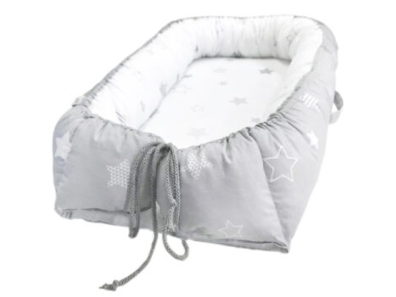 Baby Nest Klups Star Miracle Gri K090 imagine