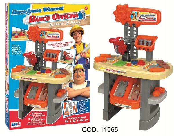 Banc de lucru cu scule si accesorii RS Toys