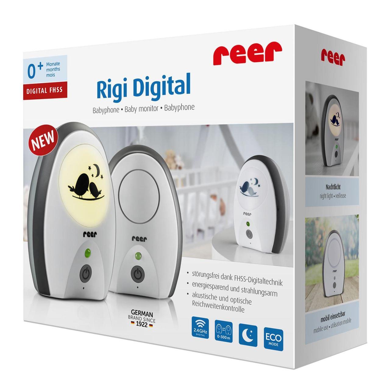 Monitor digital pentru bebelusi Rigi Digital Reer 50070 imagine