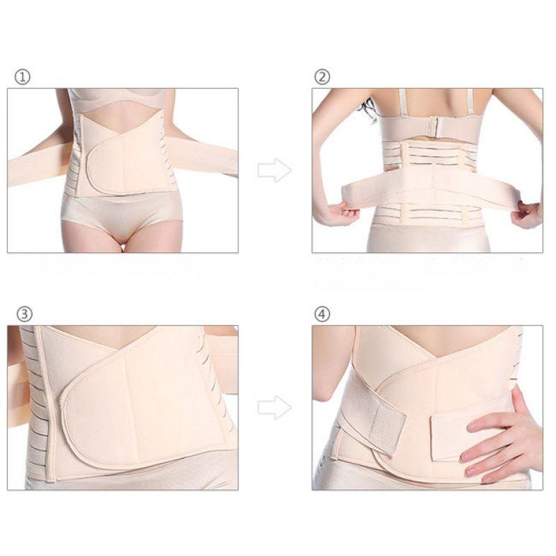 Centura abdominala postnatala dublu reglabila Lisa Rose Girl imagine