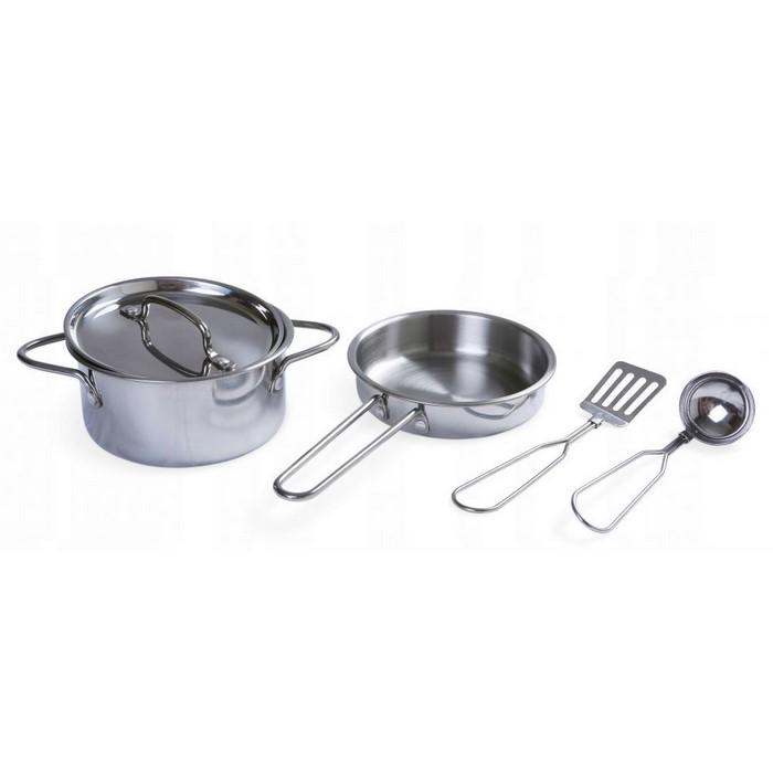 Set accesorii bucatarie din metal ecotoys 4258