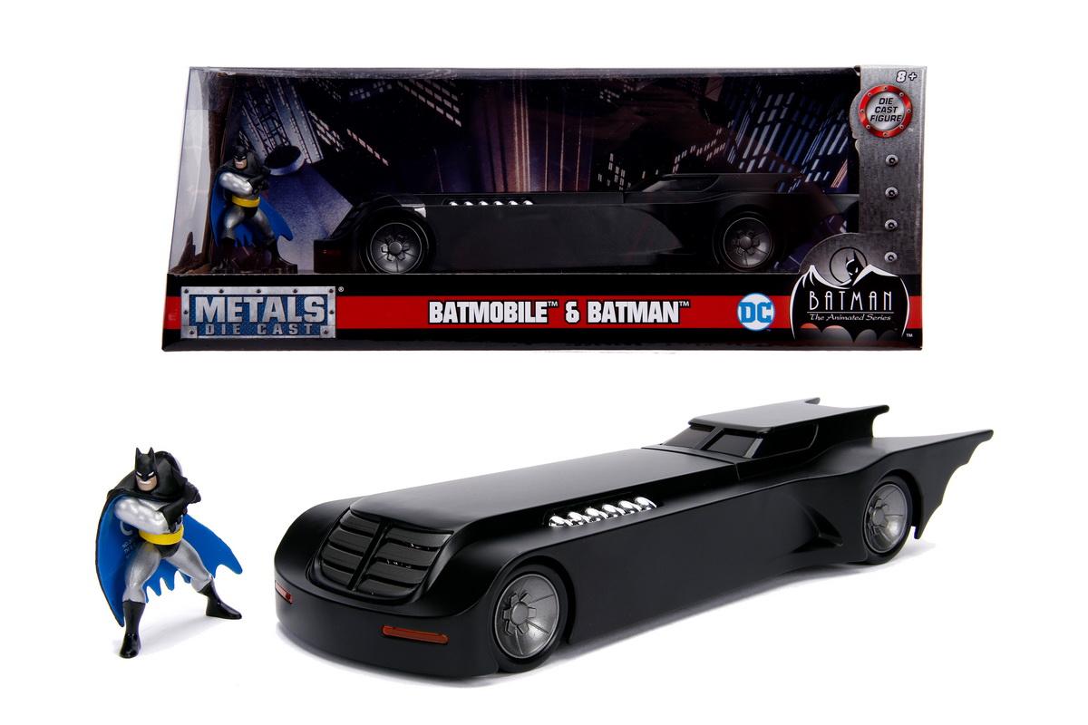 Batmobilul cu figurina seria animata