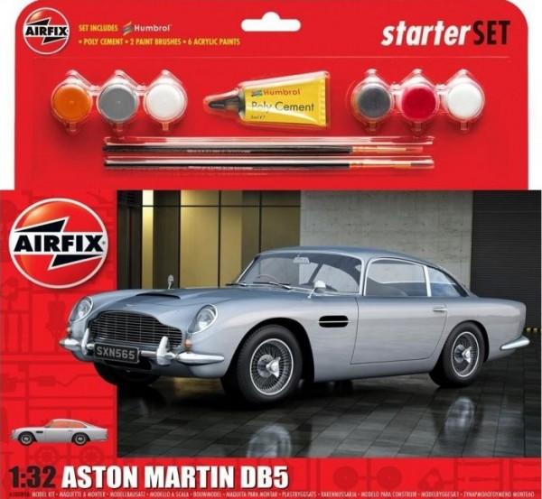 Kit constructie Airfix Masina Airfix 1/32 Aston Martin DB5 Silver