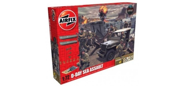 Kit constructie D-Day Sea Assault Set