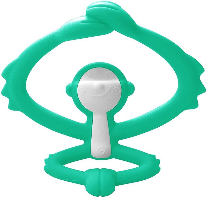 Inel gingival din silicon, mombella - maimutica verde imagine