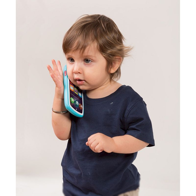 Jucarie smartphone cu functie inregistrare voce Smily Play imagine