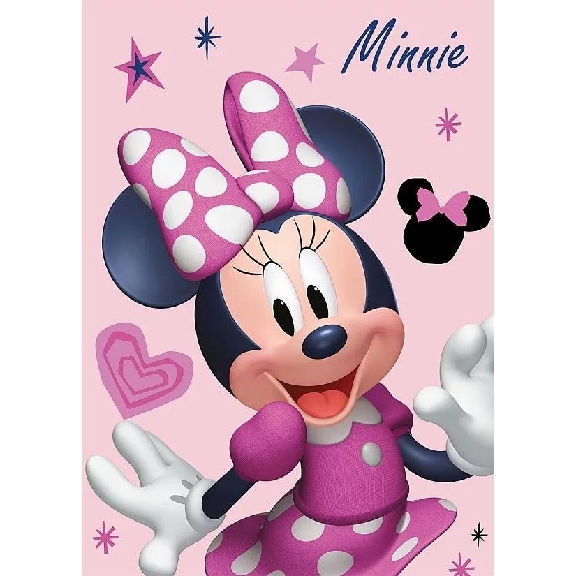 Paturica copii Minnie Pink SunCity STN586585 imagine