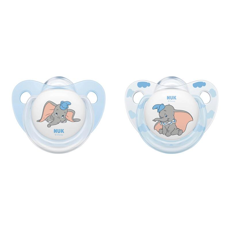Suzeta Nuk Disney Dumbo Silicon M2 6-18 luni imagine