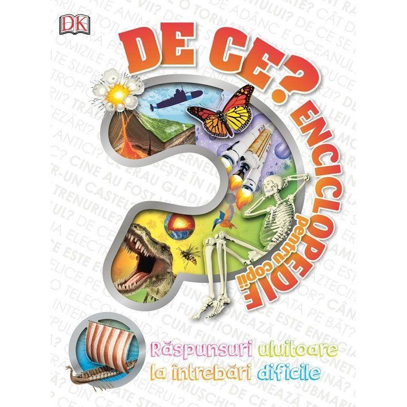Enciclopedie pentru copii De Ce Editura Kreativ EK3790 imagine