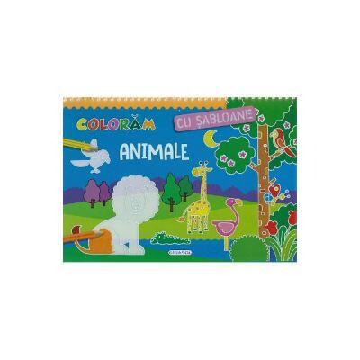 Coloram cu sabloane - Animale imagine