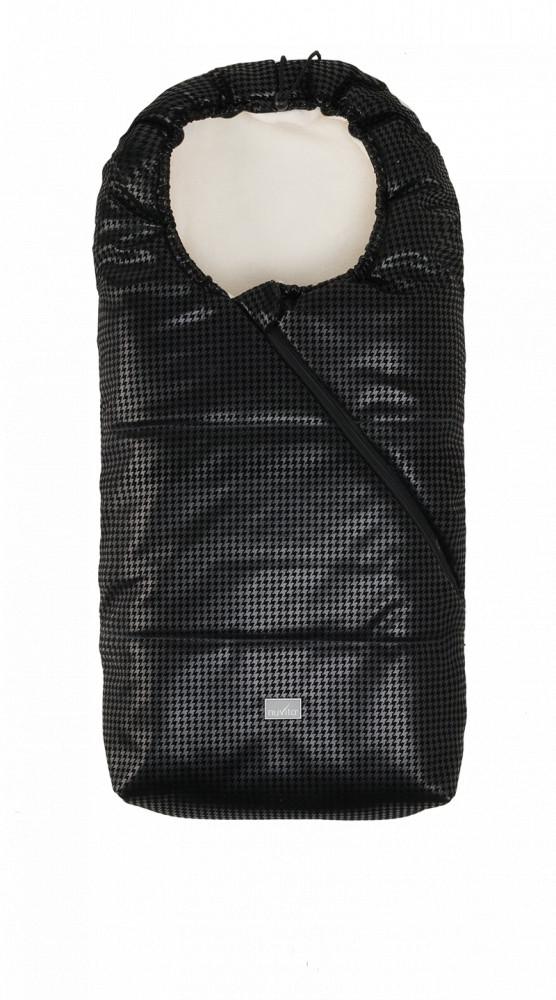 Nuvita Junior Pop sac de iarna 100cm - Eco Black Leather / Beige - 9635 imagine
