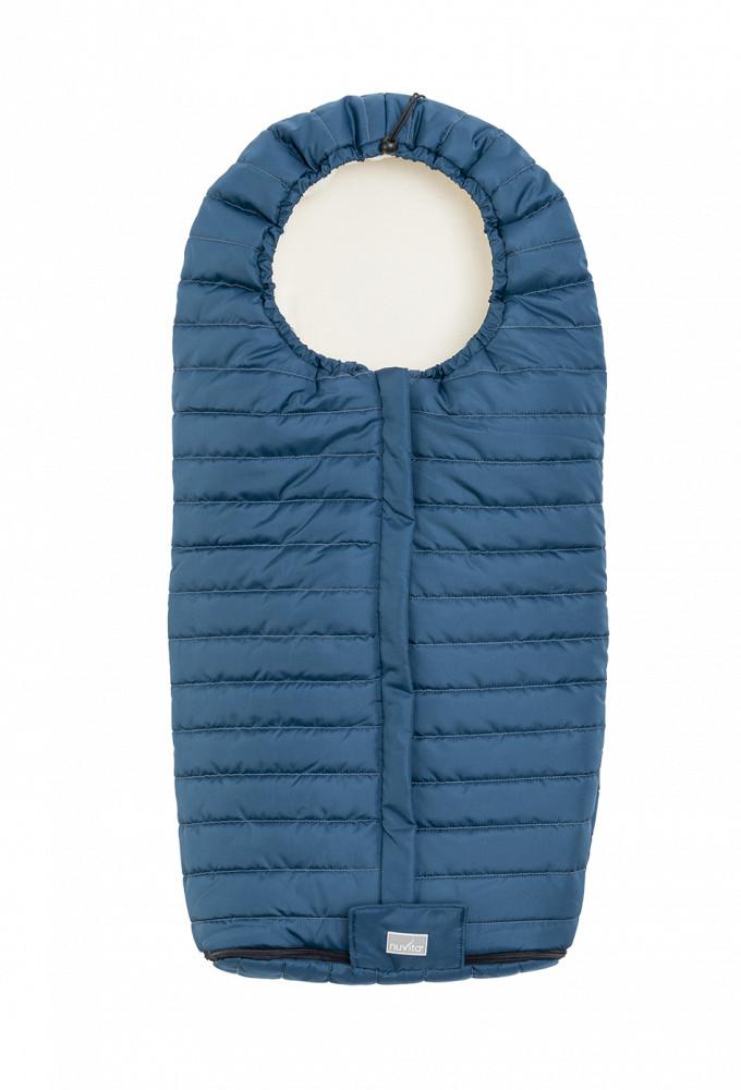 Nuvita Junior Slender sac de iarna 100cm - Harbor blue / Beige - 9658 imagine