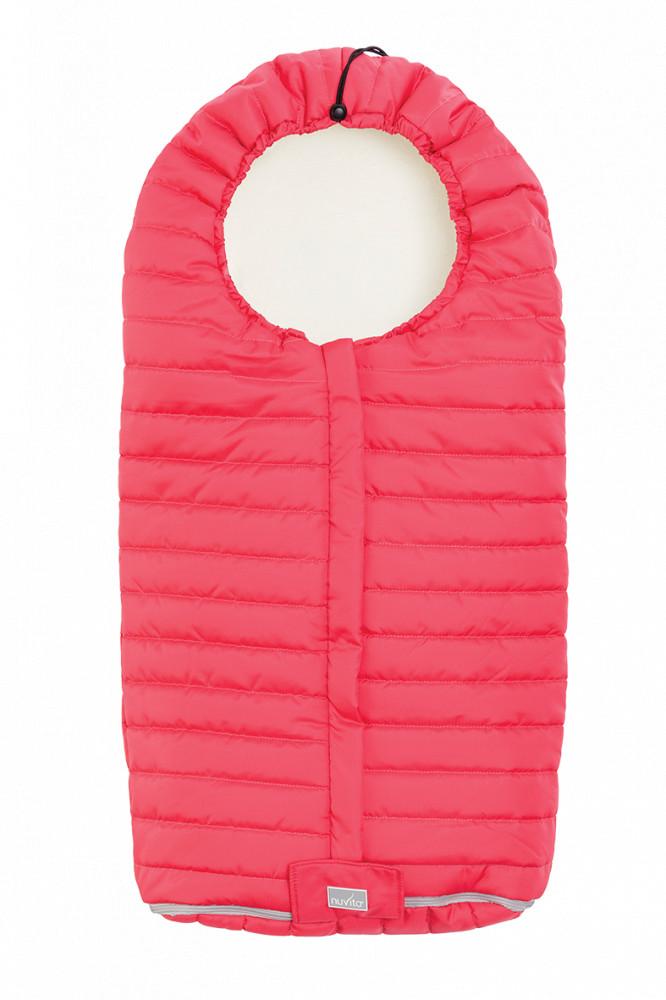 Nuvita Junior Slender sac de iarna 100cm - Hot Coral / Beige - 9658 imagine