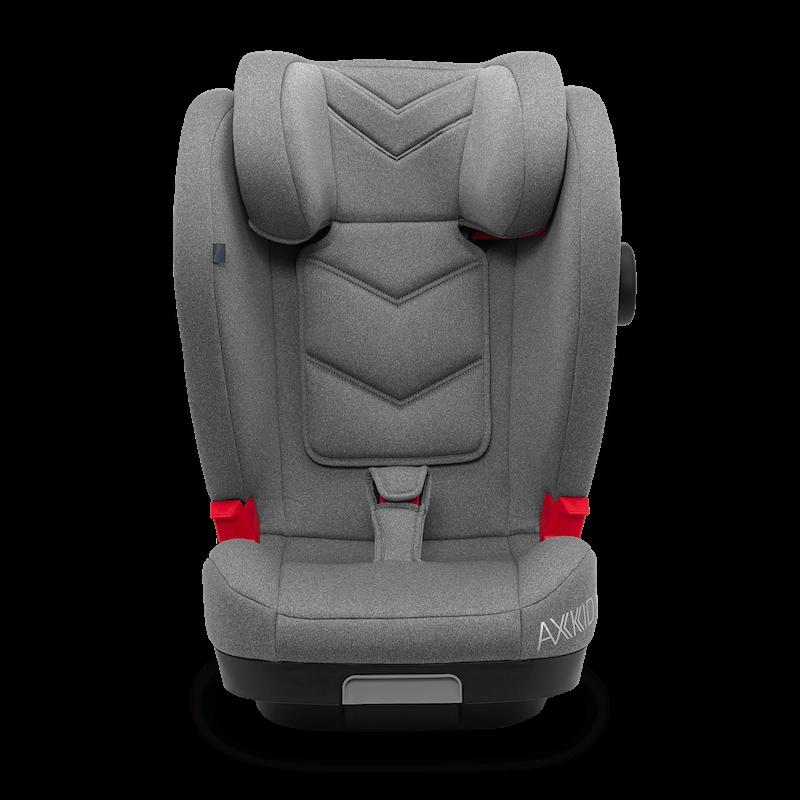 Scaun auto inaltator Axkid Bigkid 2 Premium - ISOFIX, 15-36kg - Gri imagine