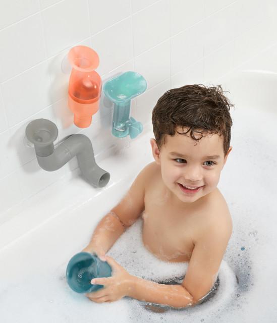 BOON - jucarie TUBES - set tuburi pentru baie imagine