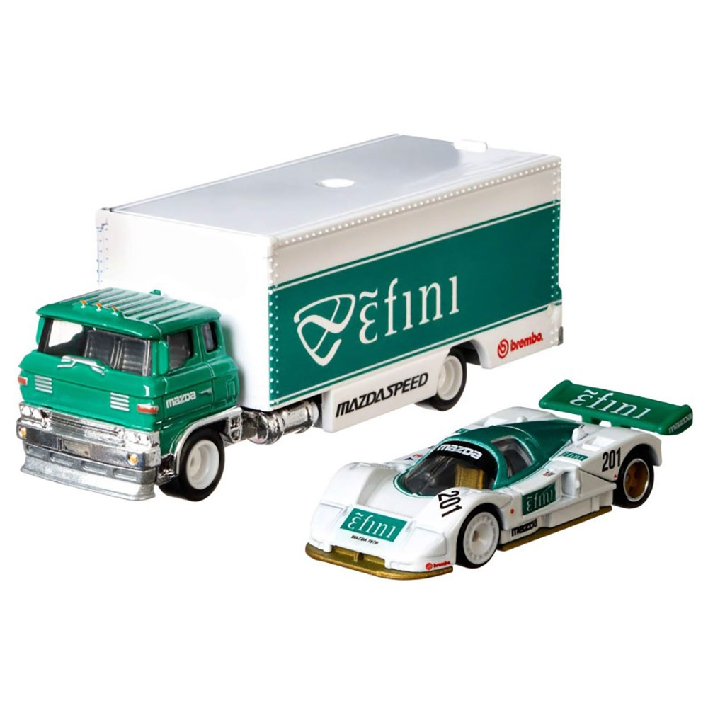 Camion Hot Wheels by Mattel Car Culture Sakura Sprinter cu masina Mazda 787B