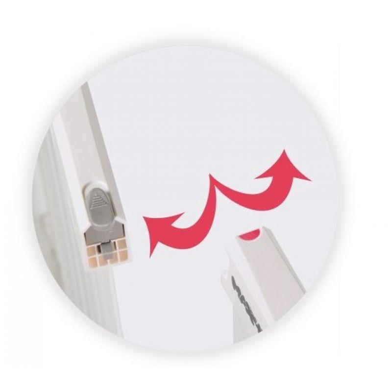 Springos - Poarta de siguranta prin presiune Zion 83-92 cm imagine