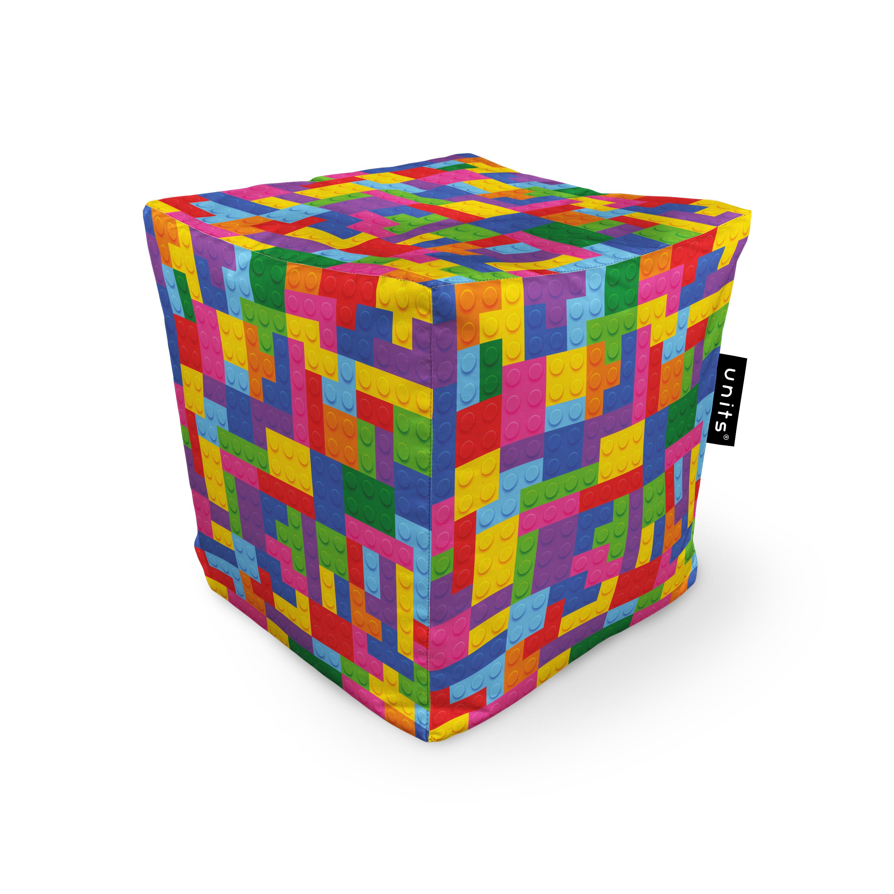 Fotoliu units puf (bean bags) tip cub, impermeabil, lego tetris imagine