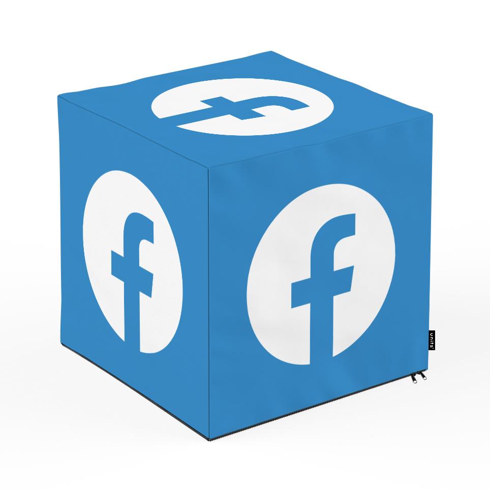 Taburet units, cub, social media 2, 45 x 45 x 45 cm imagine