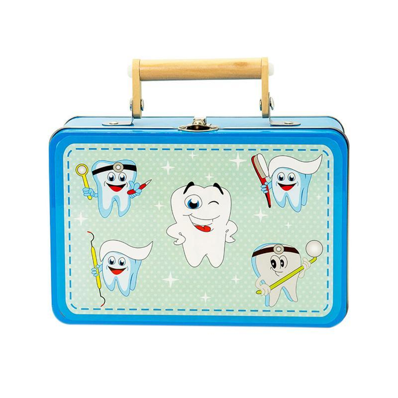 Set joaca De-a dentistul, in cutie metalica, MamaMemo