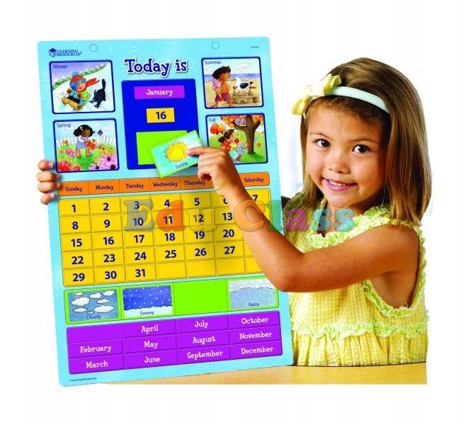 Calendar Educativ Magnetic imagine