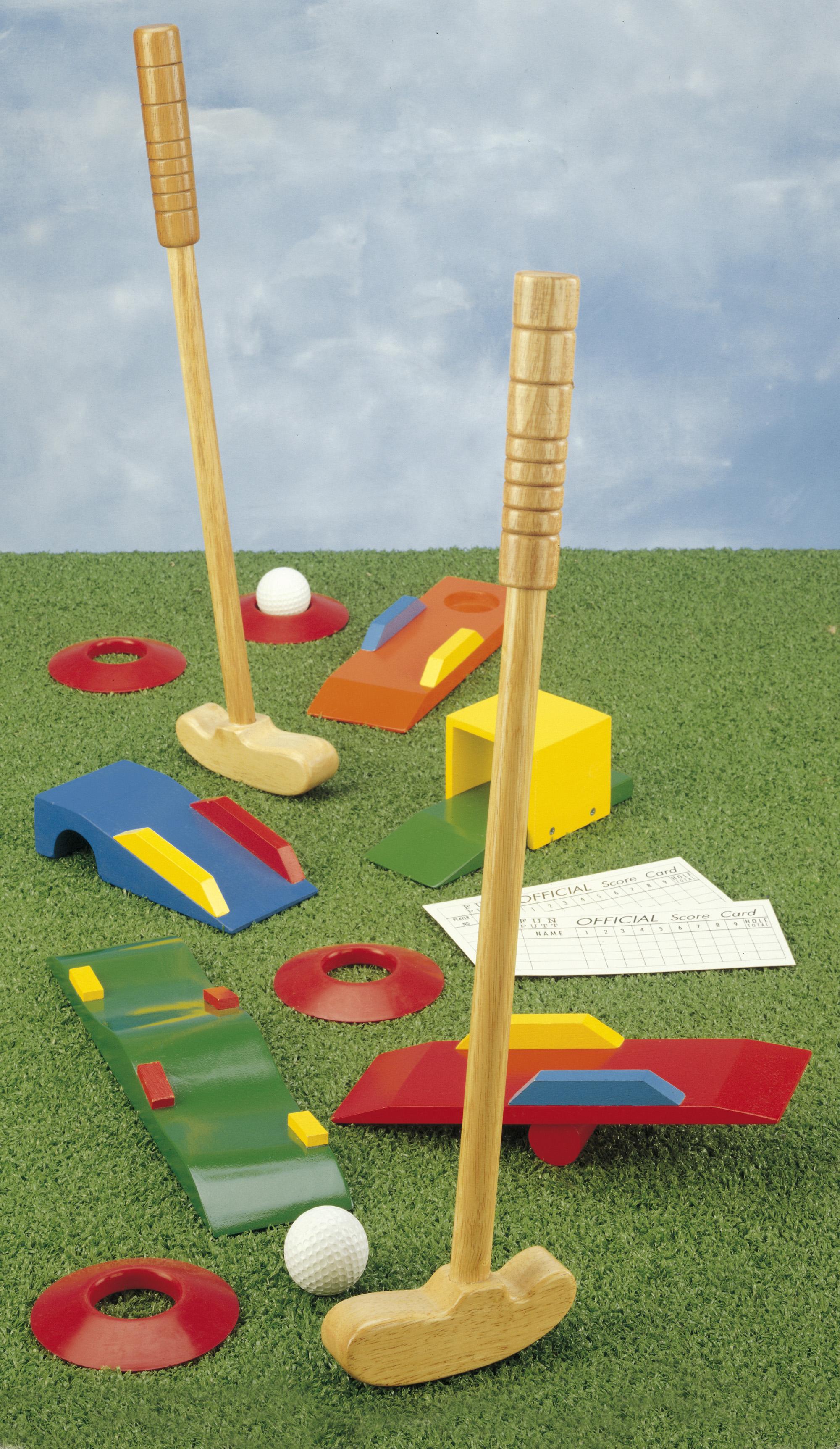 Joc Golf Din Lemn
