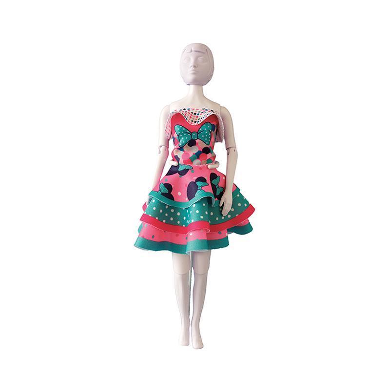 Set de croitorie hainute pentru papusi Couture Disney Maggy Minnie Bow, Dress Your Doll