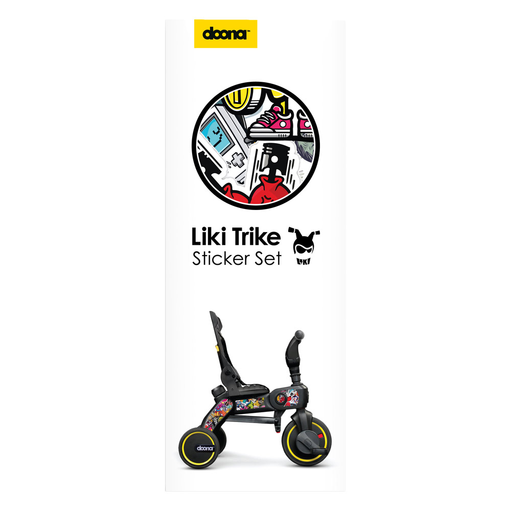 Set Stickere Liki Trike Bomb