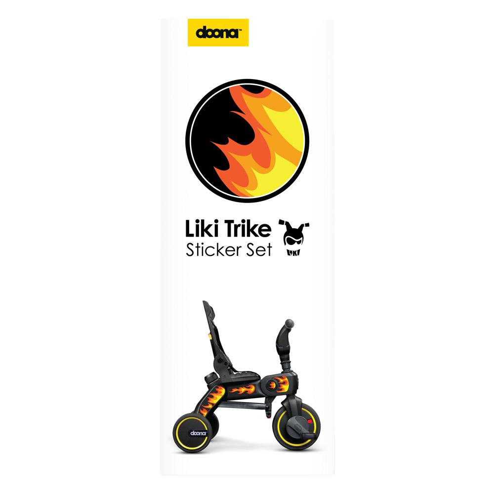 Set Stickere Liki Trike Flames