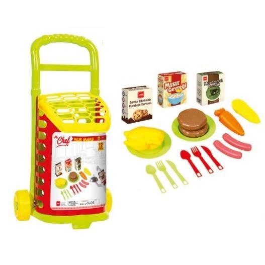Troller de cumparaturi cu accesorii MGS5601