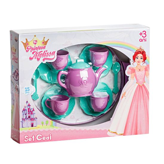 Set de ceai de jucarie Mellisa