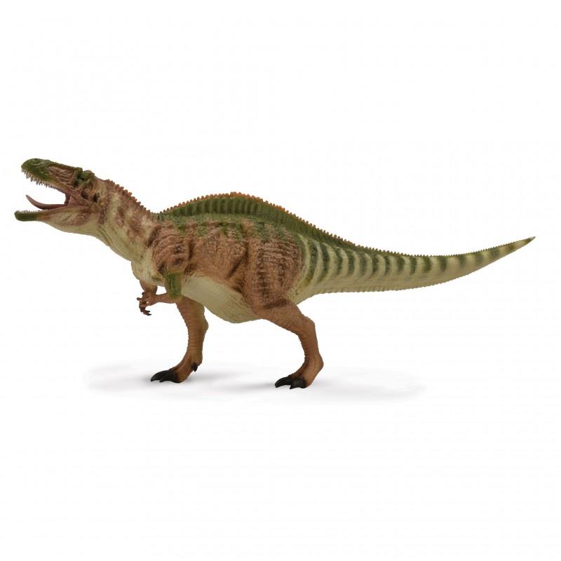 Figurina dinozaur Acrocanthosaurus pictata manual scara 1:40 Deluxe Collecta